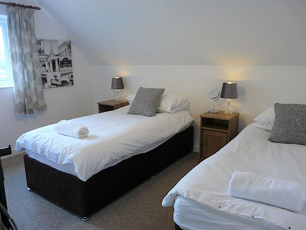 White Cottage Triple Bedroom