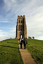Glastonbury Tor - Photo CC Kurt Thomas Huntv