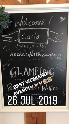henfest chalk board